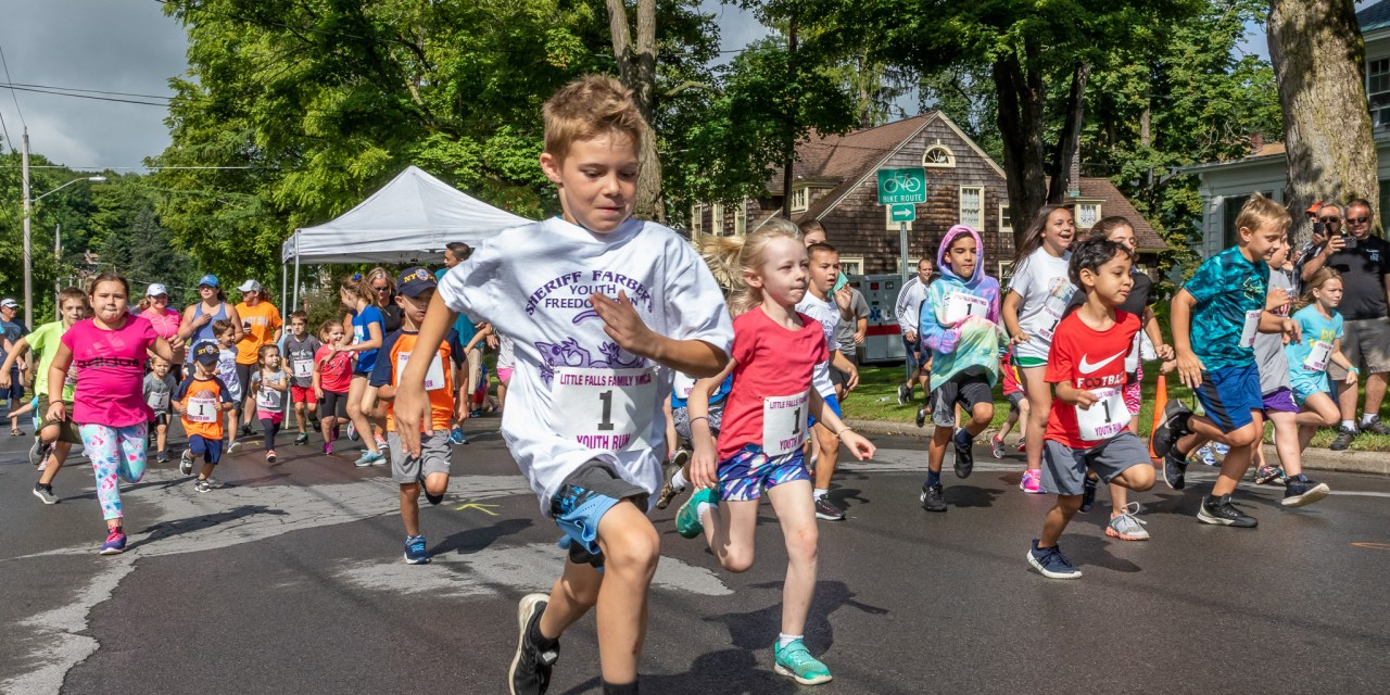 39th Annual Freedom Run and Sheriff Chris Farber's Youth Run start Day 4