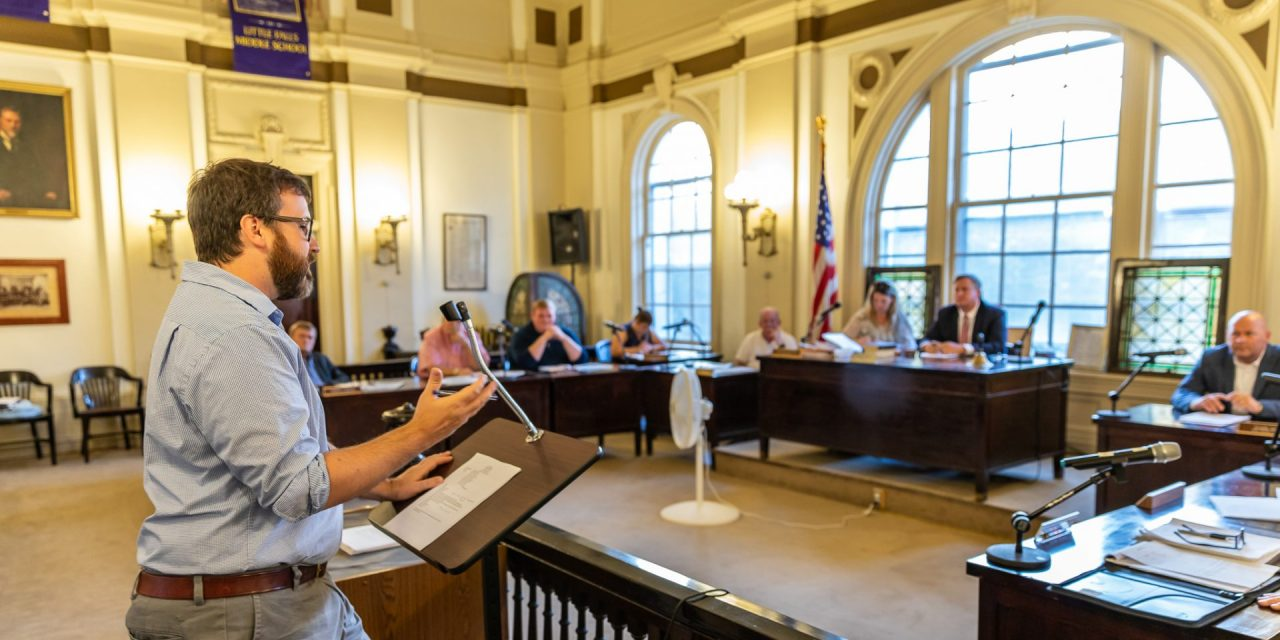 NYS Water Infrastructure Improvement Act Grant and Pedestrian Bridge highlights of council meeting