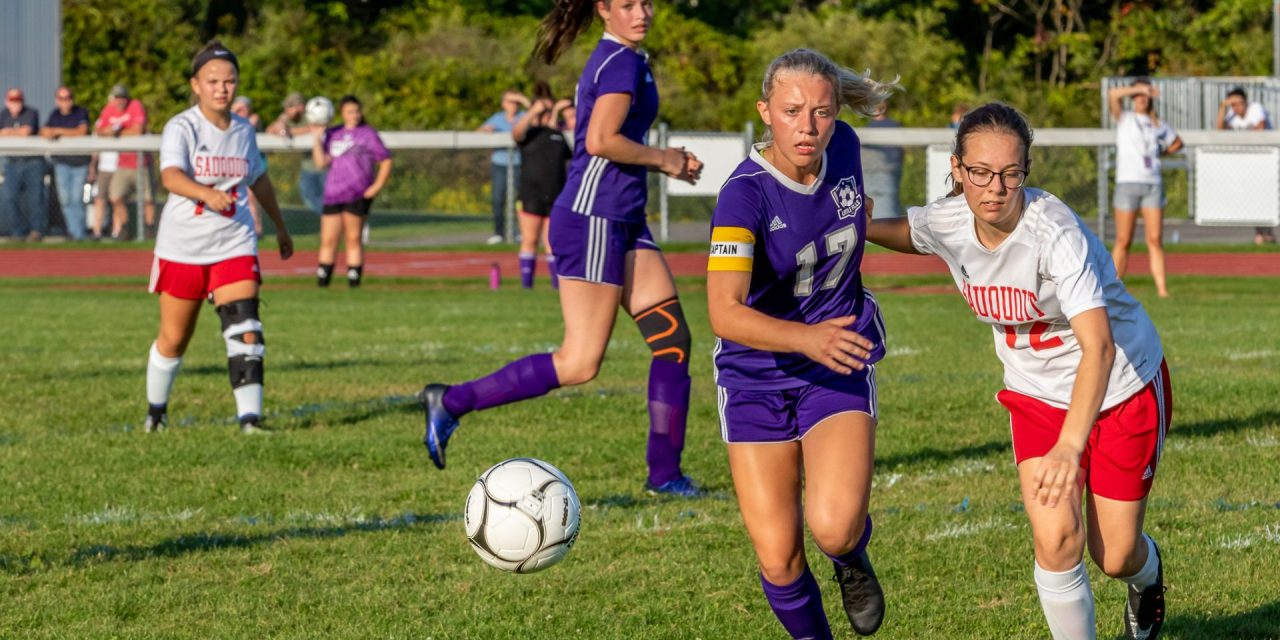 Little Falls Routs Sauquoit 9-2
