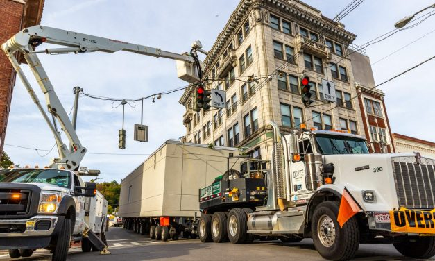 New MRI building squeaks through City streets