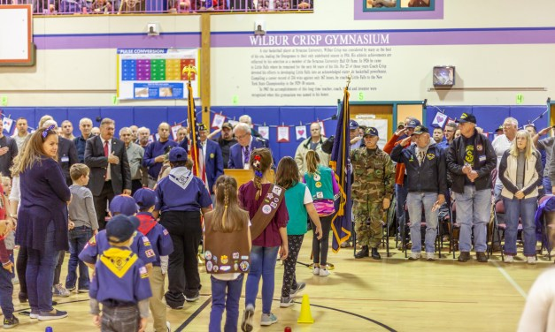 Benton Hall Academy hosts annual Veterans Day Program