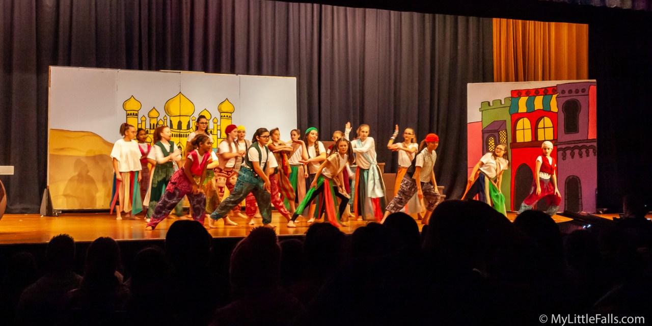 Middle school drama club presents Disney's 'Aladdin Jr.'