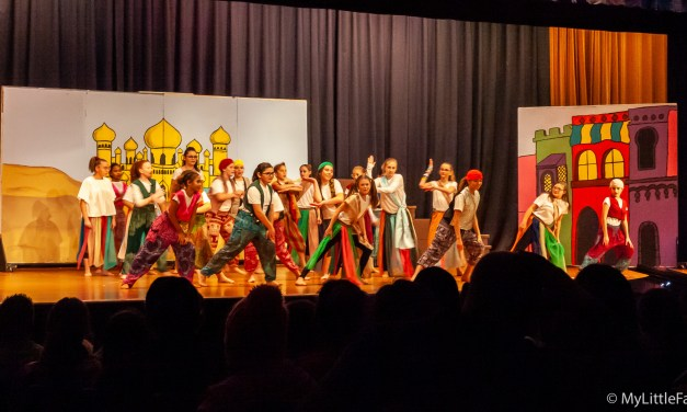 Middle school drama club presents Disney's 'Aladdin Jr.'