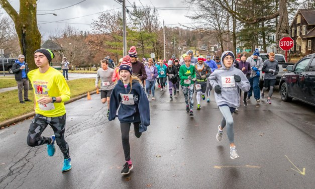 Forty degrees warmer for 2nd annual Turkey Trot