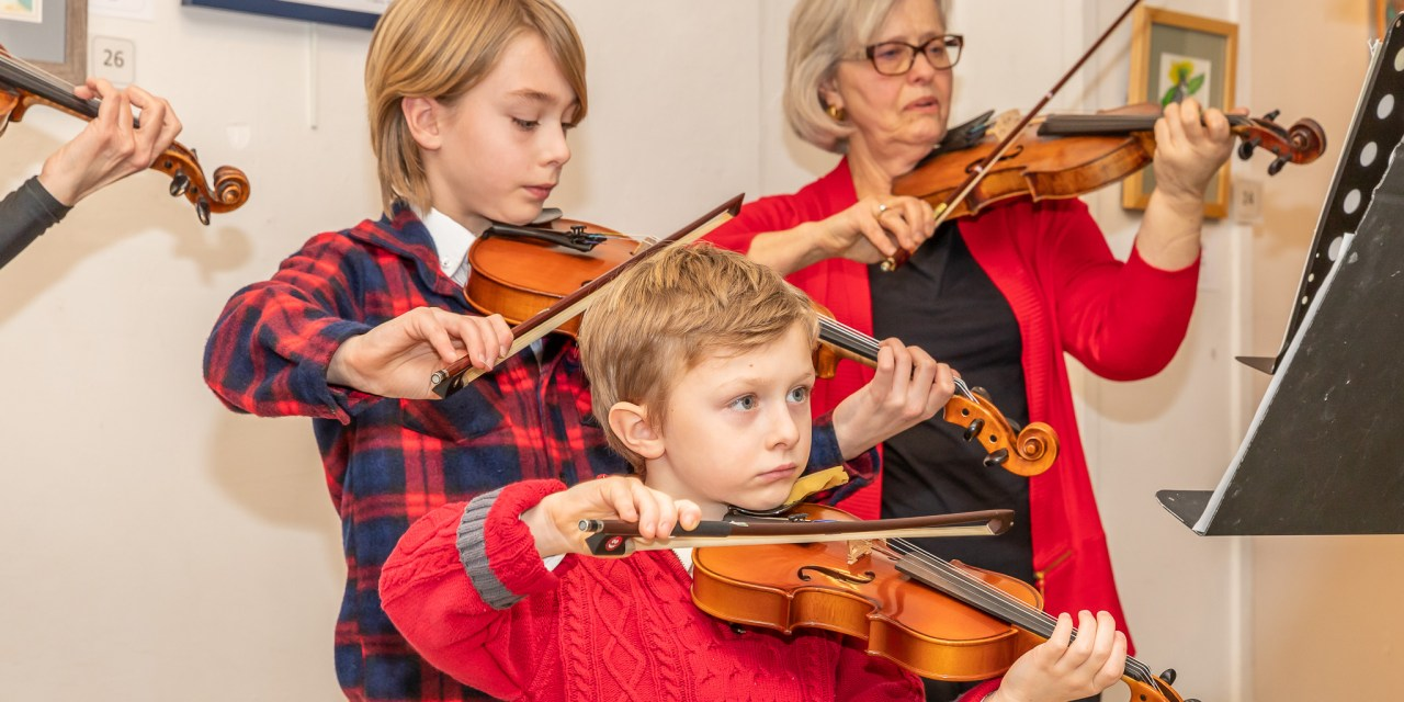 Strings Orchestra holds first Little Falls performance