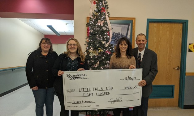 School district receives gift