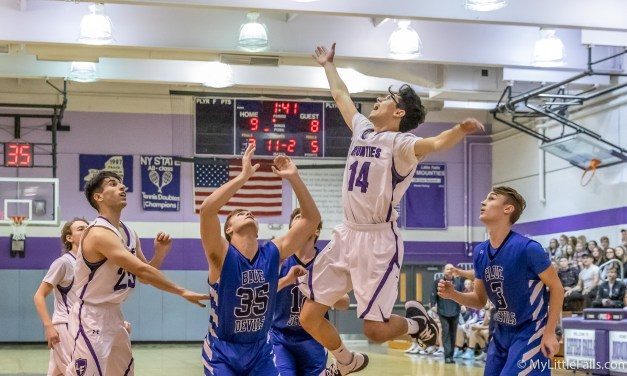 Mounties overpowered in match with Blue Devils