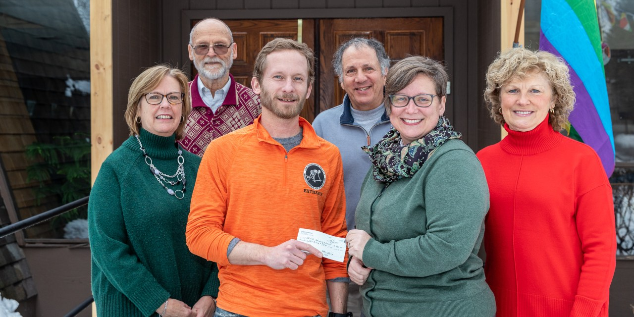 Community Outreach receives donation