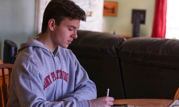 LFHS student has his first published book on Amazon
