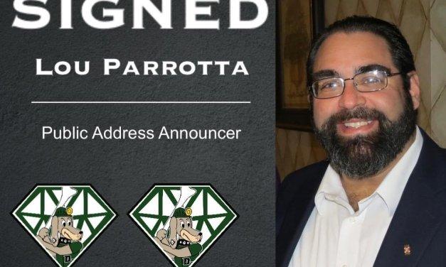 DiamondDawgs sign public address announcer