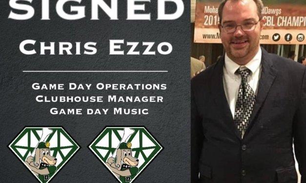 DiamondDawgs sign Chris Ezzo