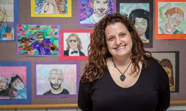 Watson selected as Art Teacher of the Year