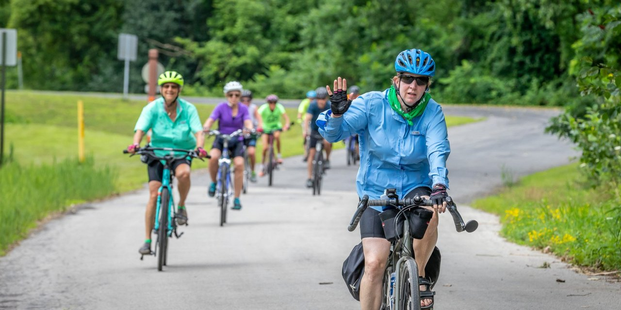 Cyclists return to Little Falls