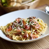 Smoked Salmon and Sun-Dried Tomato Pasta