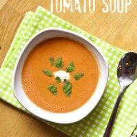 Creamy 10-Minute Tomato Soup