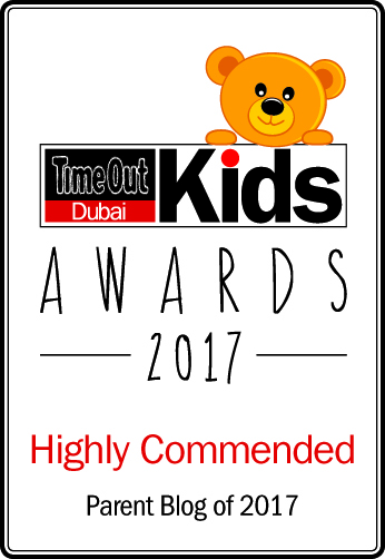 Time Out Dubai Kids Awards 2017 - Shortlisted - Parent Blog of 2