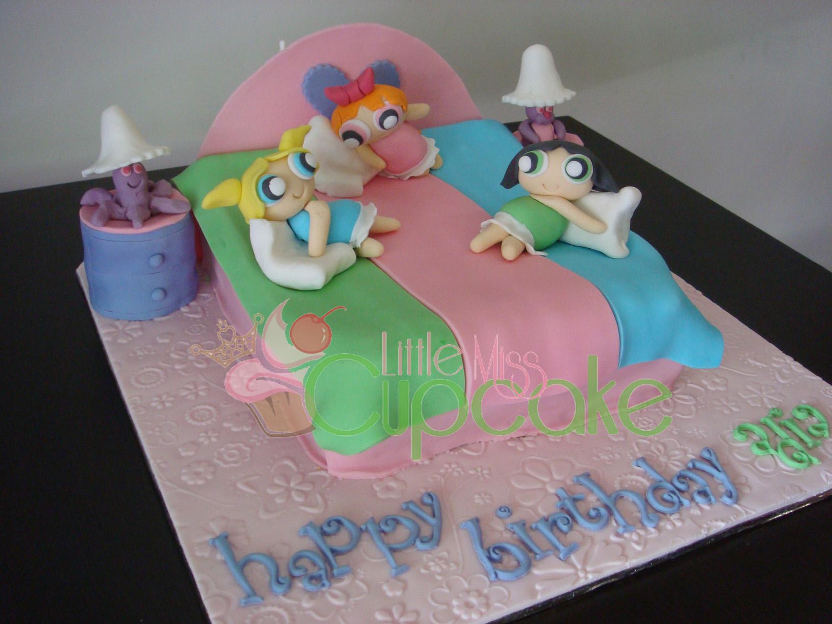 Power Puff Girls Little Miss Cupcake