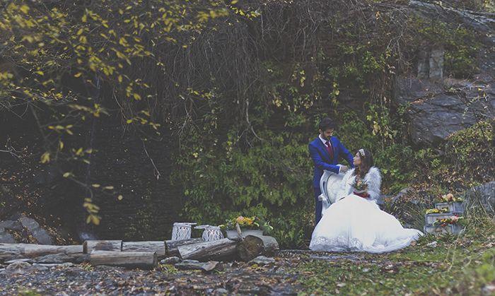 editorial boda novia amor