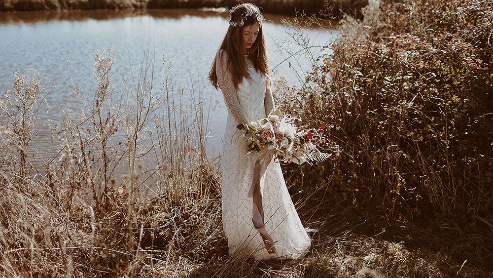 novia boda otoño