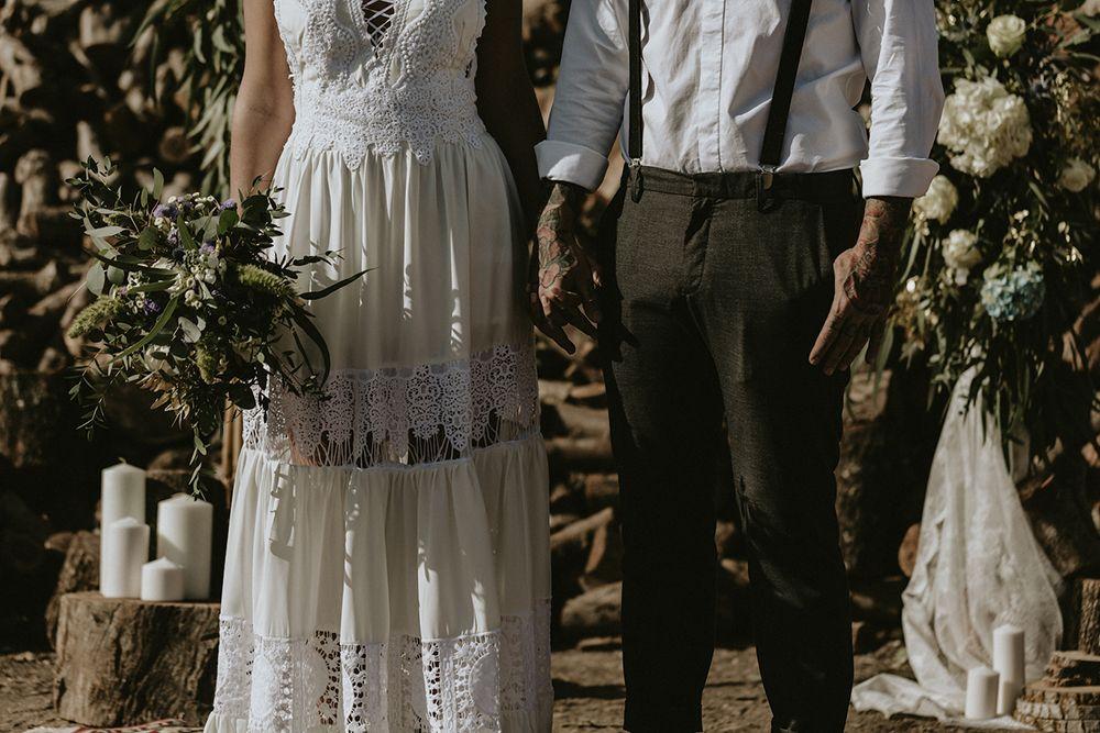 bodas boho novia indie boda folk editorial bohemia