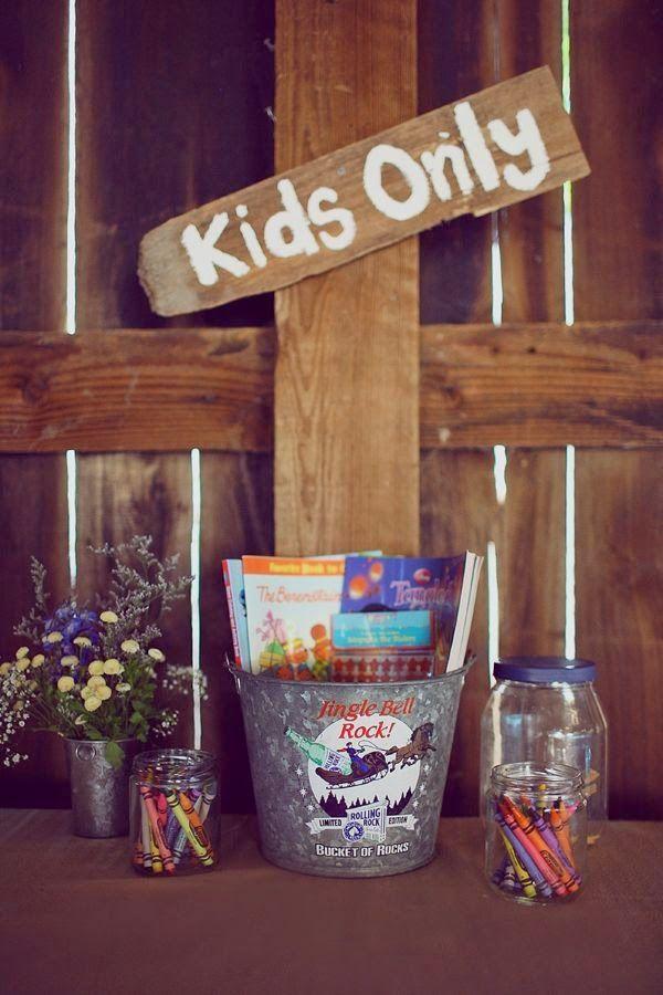 divertir niños boda