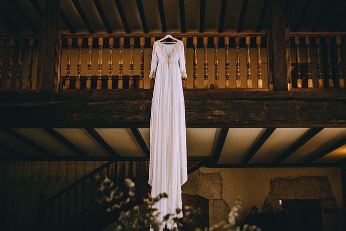 Vestido de novia Miguel Crespí
