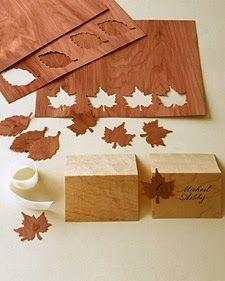 tutorial marcasitios boda otoño