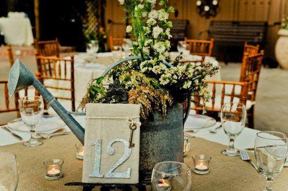 regaderas vintage boda