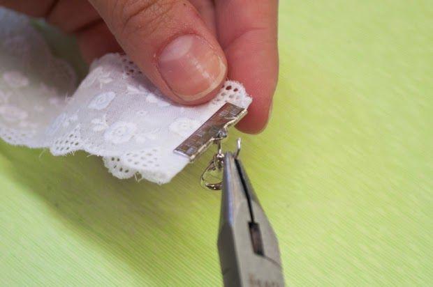 como hacer pulsera de encaje