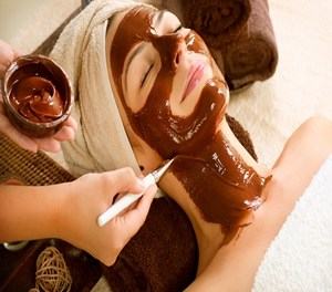 A cool Chocolate Face mask