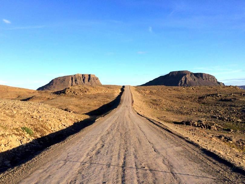 fjords de l'ouest islande