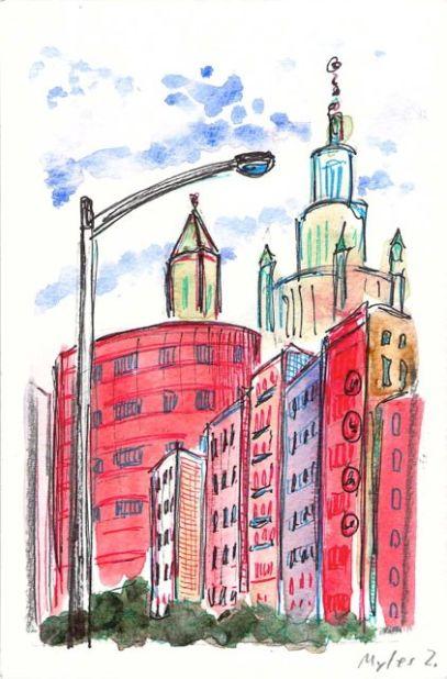 Henry & Market Streets - Tenement Row