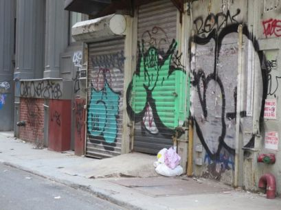 Canal Street Back Alley
