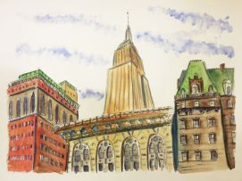 Empire State from Greeley Square