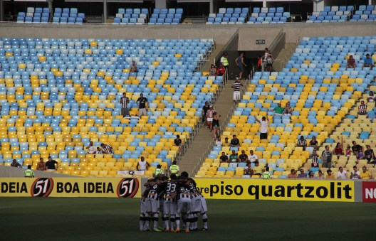 Botafogo's team before the game start