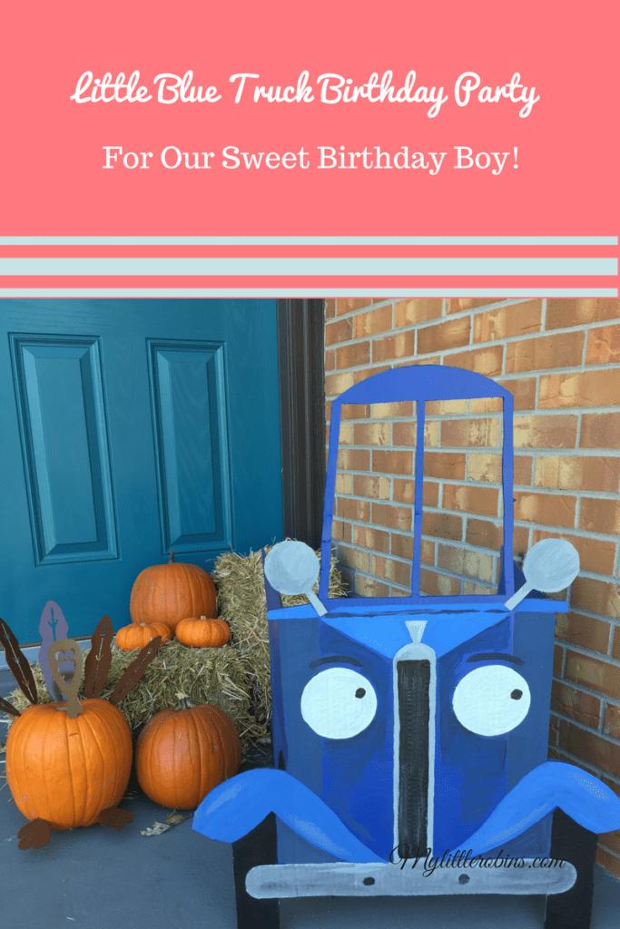 Little Blue Truck Birthday Pary