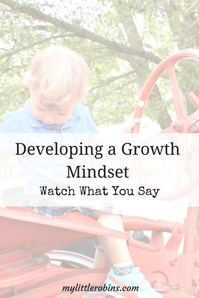 One Little Change To Develop a Growth Mindset