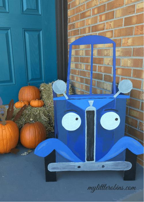 Little Blue Truck Photo Prop