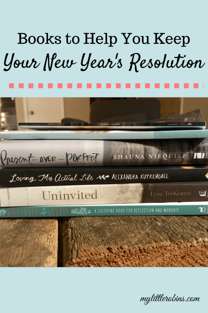 Books To Help You Keep Your New Year's Resolution