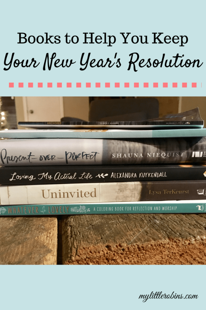 These faith-based books can inspire you to keep your New Year's resolution.