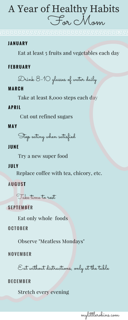 A Year of Positive Habits for Moms