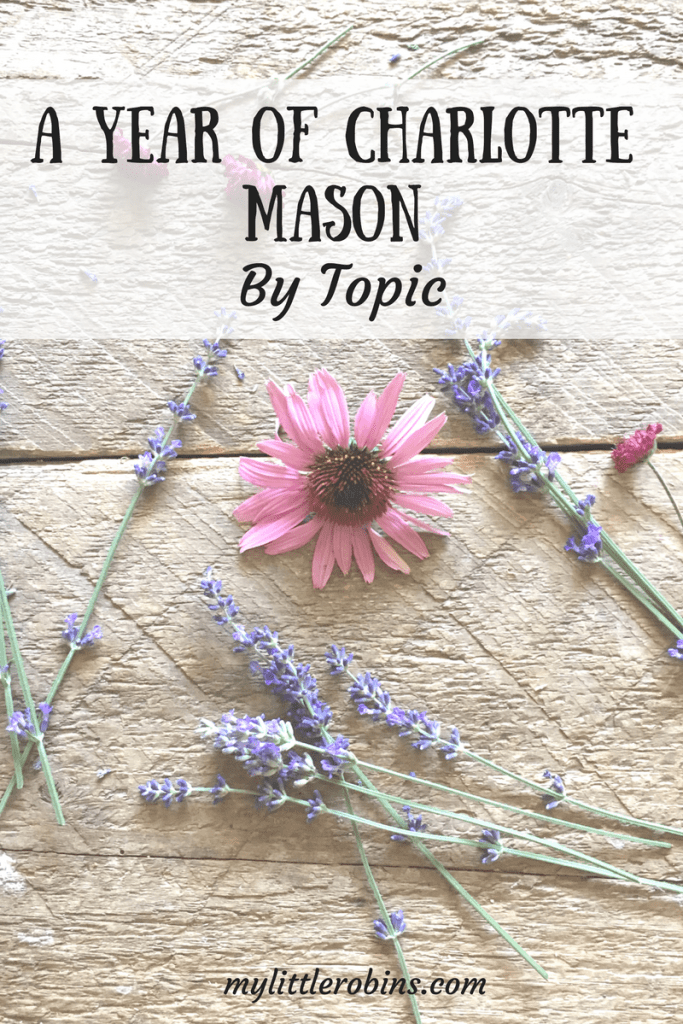 A Year of Charlotte Mason by Topic