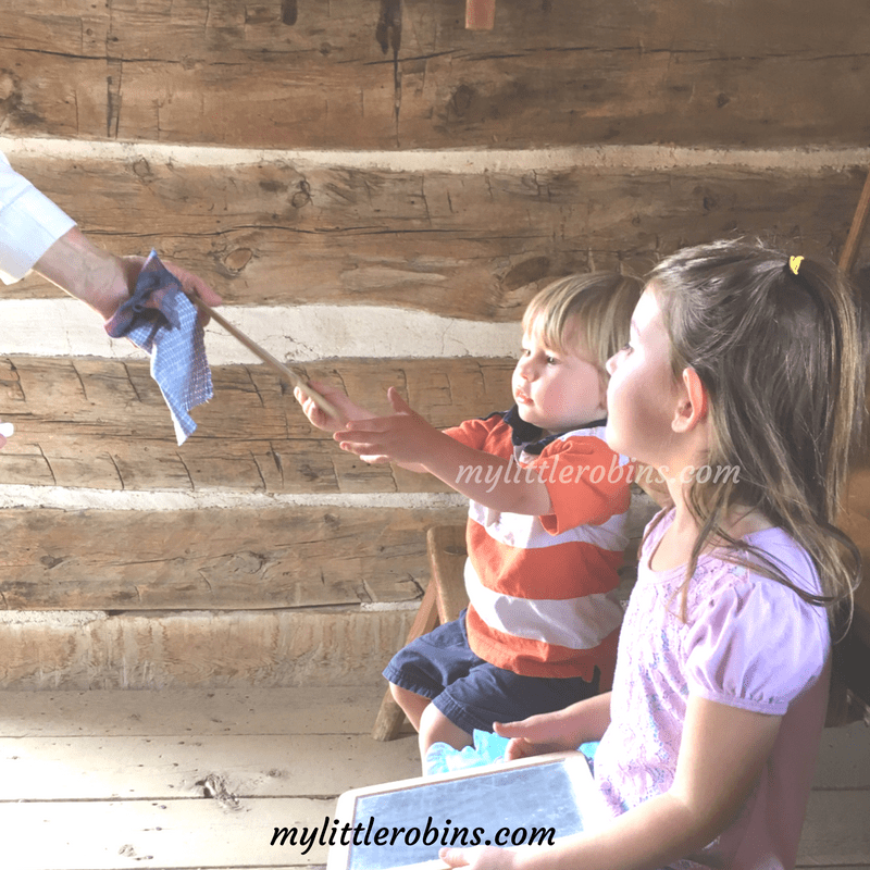 Even though we don't do formal lessons yet, I've been thinking about what homeschool could look like in the future. What does a Charlotte Mason lesson look like?