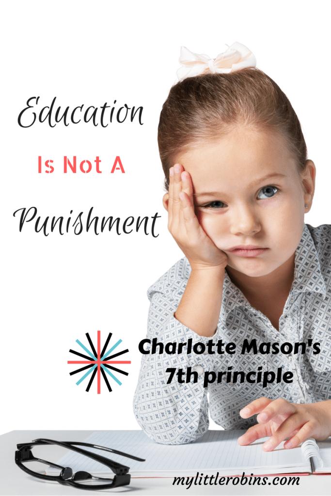 Education is a discipline: Charlotte Mason's 7th principle #CharlotteMason #homeschool