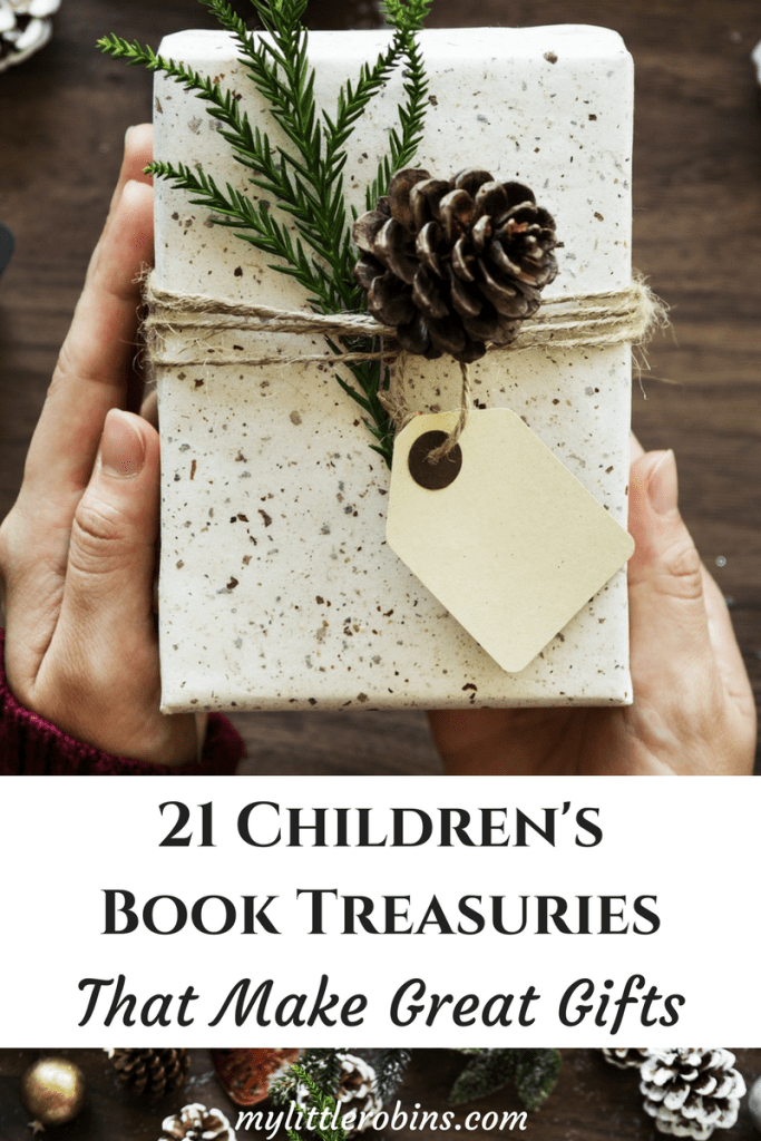 Children's book treasuries make great gifts throughout the year. #childrensbooks #charlottemason
