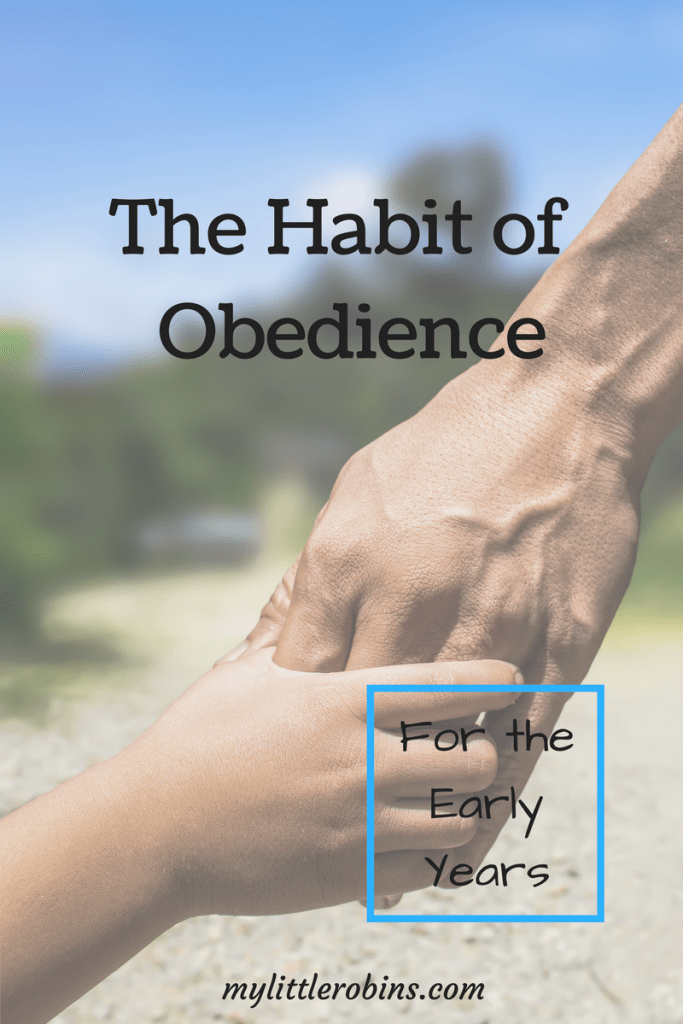 The #habit of #obedience is so important in the early years. #charlottemason