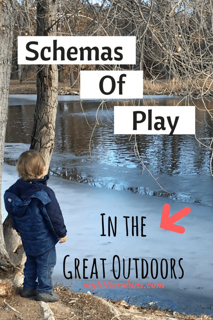 Schemas of #play are types of play that children engage in. Paying attention to these in the #earlyyears allows us to see the educational value of #play.