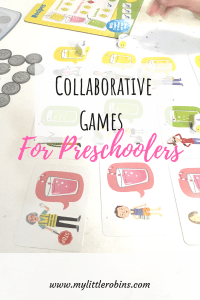Fun preschool board games where kids work together instead of against each other. . #preschoolgames #collaboration