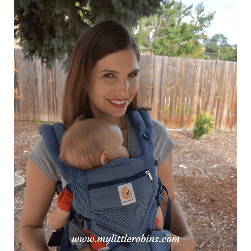 Getting Kids Outside With Ergobaby Cool Air Mesh