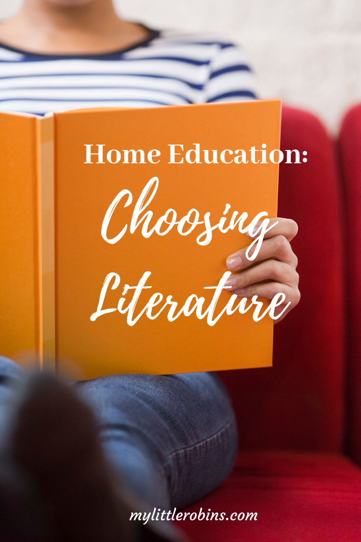 How I chose literature for my daughter's year 1 of homeschooling.